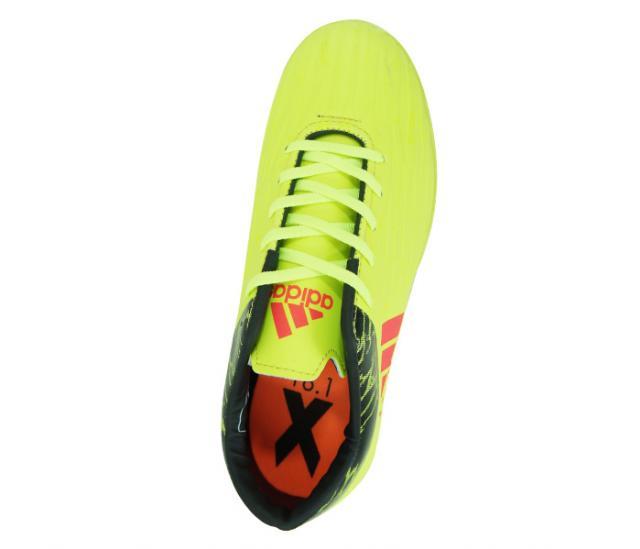 c38f3f0363658 Chuteira Society Adidas X 16.1 Amarelo Limão e Preto Lançamento