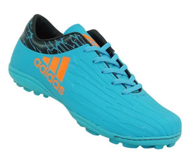 819bda2105559 Chuteira Society Adidas X 16.1 Azul Lançamento
